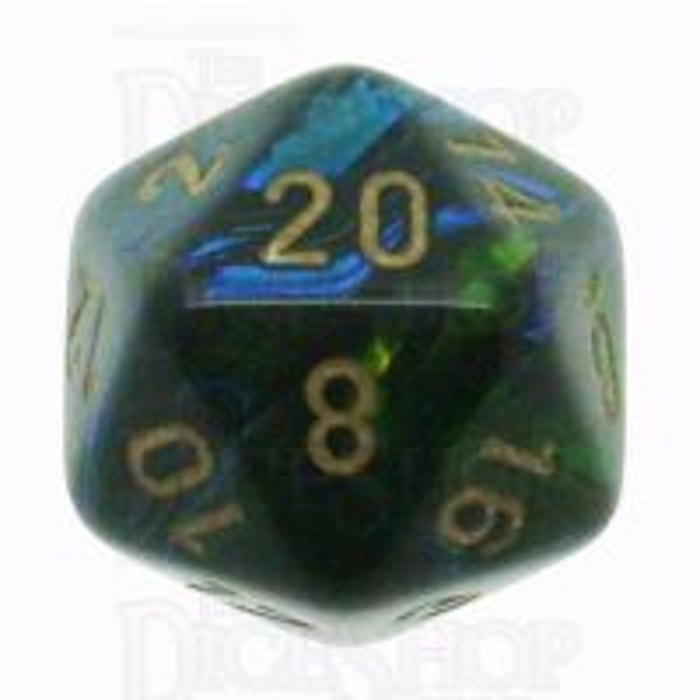 Chessex Scarab Jade D20 Dice