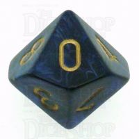 Chessex Scarab Royal Blue D10 Dice
