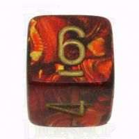 Chessex Scarab Scarlet D6 Dice