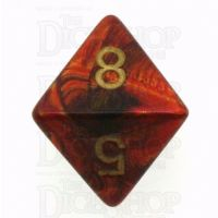 Chessex Scarab Scarlet D8 Dice