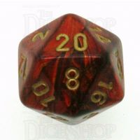 Chessex Scarab Scarlet D20 Dice