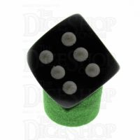Wuerfel Schmied Opaque Green 16mm D6 Dice Display Stand