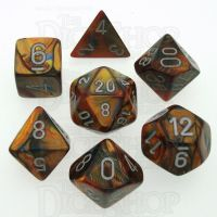 Chessex Lustrous Gold 7 Dice Polyset