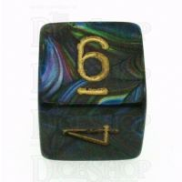 Chessex Lustrous Shadow D6 Dice