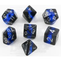 TDSO Mineral Sapphire 7 Dice Polyset