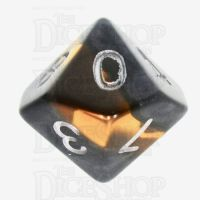 TDSO Mineral Amber D10 Dice