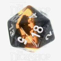 TDSO Mineral Amber D20 Dice