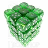 Würfelzeit Borealis Green 36 X D6 Dice Set