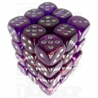 Würfelzeit Borealis Purple 36 X D6 Dice Set
