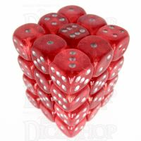 Würfelzeit Borealis Red 36 X D6 Dice Set
