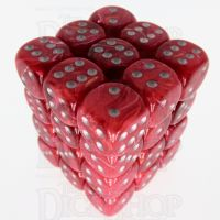 Würfelzeit Cosmoo Tornado Red 36 x D6 Dice Set