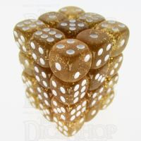 TDSO Glitter Yellow 36 x D6 Dice Set