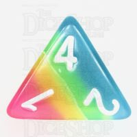 TDSO Layer Candy Glow In The Dark D4 Dice
