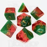 TDSO Layer Watermelon 7 Dice Polyset