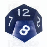 GameScience Opaque Navy & White Ink D12 Dice