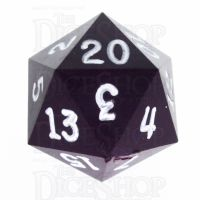 GameScience Opaque Purple & White Ink D20 Dice