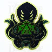 D20 Hard Enamel Pin Badge : Otherworldly Pacts
