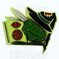 D20 Hard Enamel Pin Badge : Arcana Magick