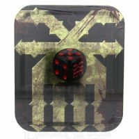 CLEARANCE GW Warhammer The End of Times Khorne 10 x D6 Dice Set in Tin - NEVER RELEASED
