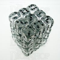 D&G Gem Clear 36 x D6 Dice Set