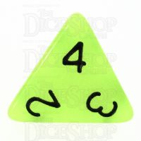 TDSO Glow in the Dark Gamma D4 Dice LIMITED EDITION