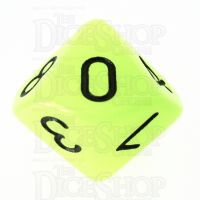 TDSO Glow in the Dark Gamma D10 Dice LIMITED EDITION
