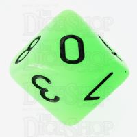 TDSO Glow in the Dark Ectoplasm D10 Dice LIMITED EDITION
