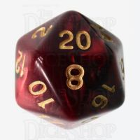 TDSO Duel Blood & Shadow D20 Dice