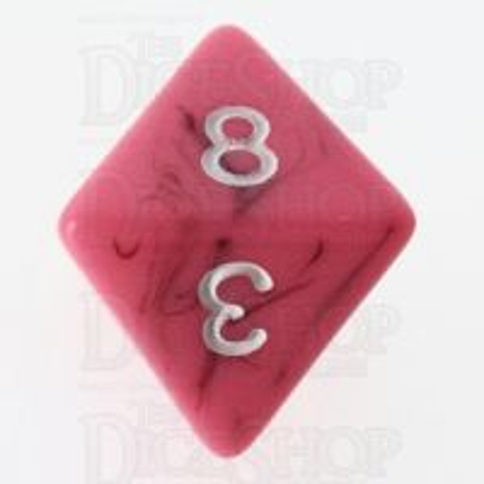 TDSO Duel Black & Pink D8 Dice