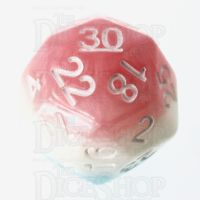 Impact Cotton Candy & White D30 Dice