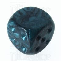 TDSO Pearl Green Blank Faced Uninked D6 Spot Dice