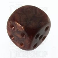 TDSO Pearl Copper Blank Faced Uninked D6 Spot Dice