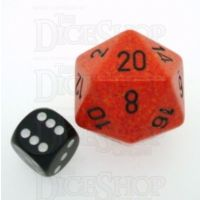Chessex Speckled Fire JUMBO 34mm D20 Dice