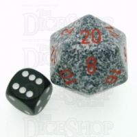 Chessex Speckled Granite JUMBO 34mm D20 Dice