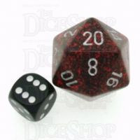 Chessex Speckled Silver Volcano JUMBO 34mm D20 Dice