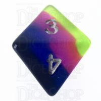 TDSO Layer Neon Sunrise D8 Dice