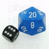 Chessex Speckled Water JUMBO 34mm D20 Dice