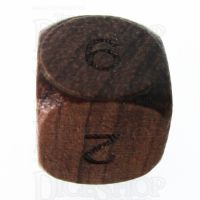 TDSO Rosewood Wooden D6 Dice