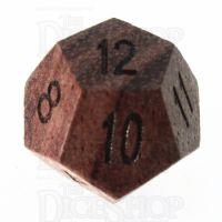 TDSO Rosewood Wooden D12 Dice