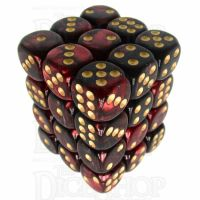 TDSO Duel Blood & Shadow 36 x D6 Dice Set