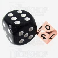 TDSO Metal Polished Copper MINI 10mm D10 Dice