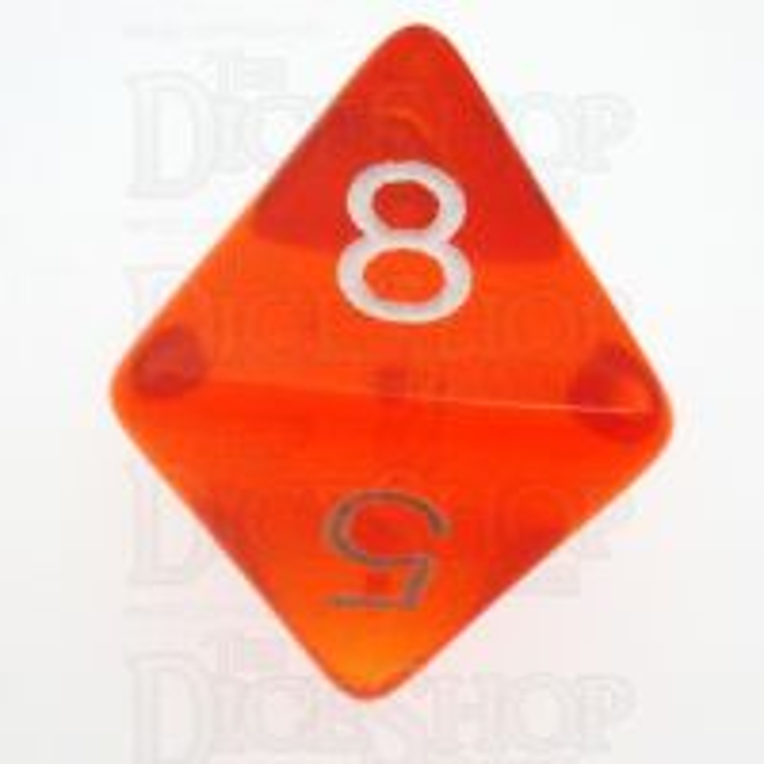 D&G Gem Orange D8 Dice