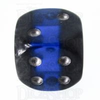 TDSO Mineral Sapphire 16mm D6 Spot Dice