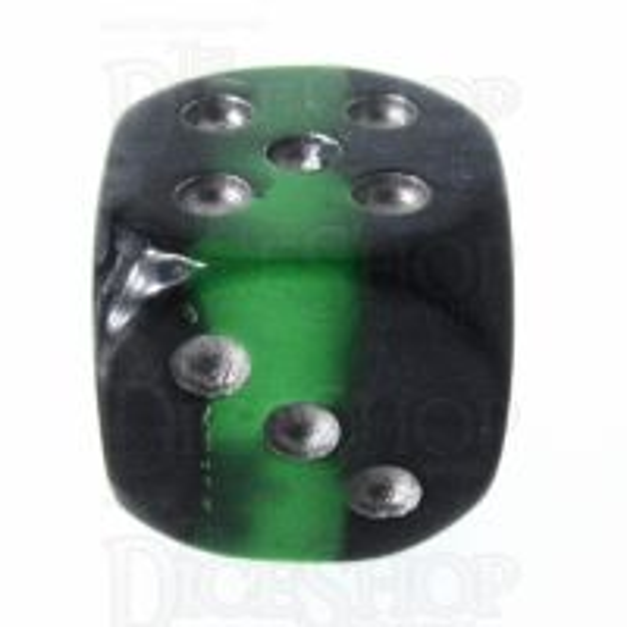 TDSO Mineral Emerald 16mm D6 Spot Dice