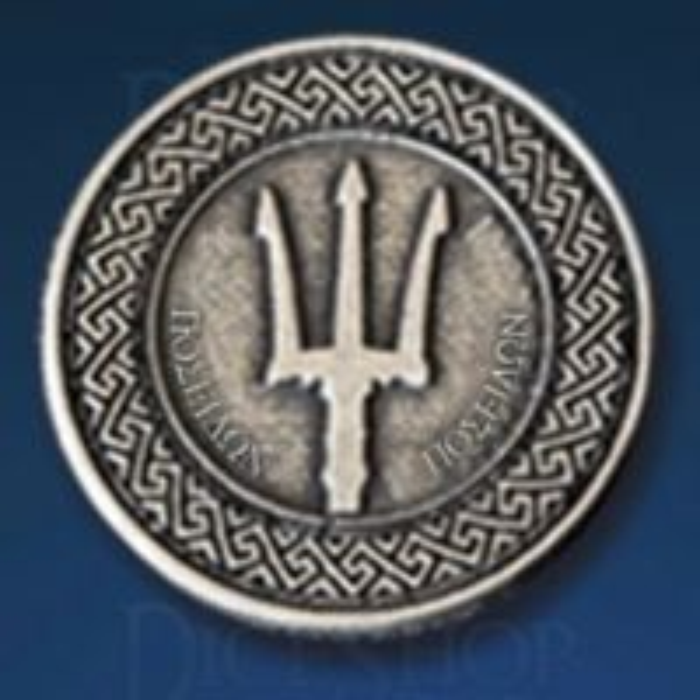 Greek Mythology Legendary Metal Silver Coin