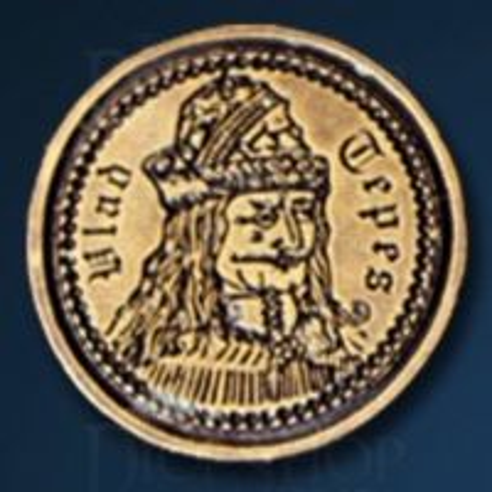 Vampire Legendary Metal Gold Coin
