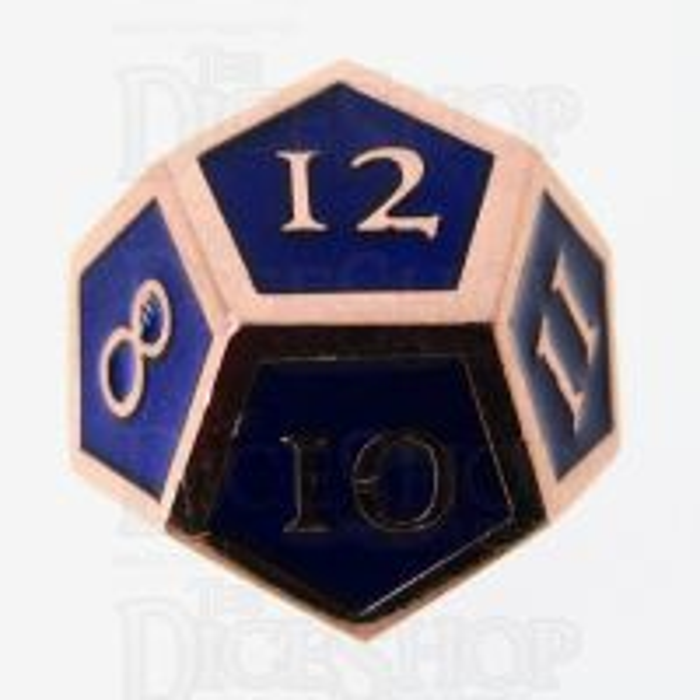 TDSO Metal Script Copper & Blue & D12 Dice