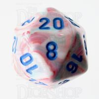 Chessex Festive Pop Art D20 Dice