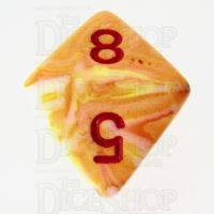 Chessex Festive Sunburst D8 Dice