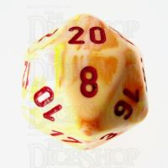 Chessex Festive Sunburst D20 Dice